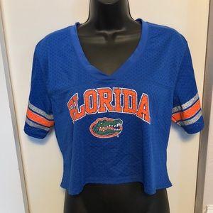 40446613a50b79 Shirts   Tops - Florida Gators UF Football Crop Top.